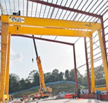 More Than 15 Years of Experience in Crane and Steel Structure Works